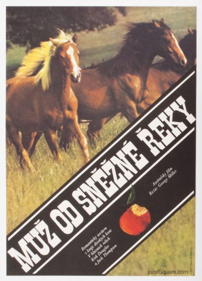 Movie Poster, The Man from Snowy River, Unknown Artist