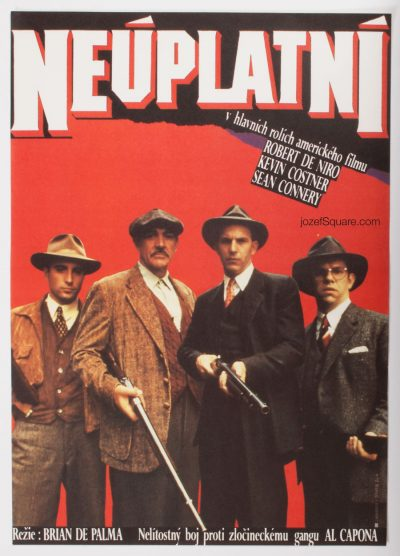 Movie Poster, The Untouchables, Unknown Artist