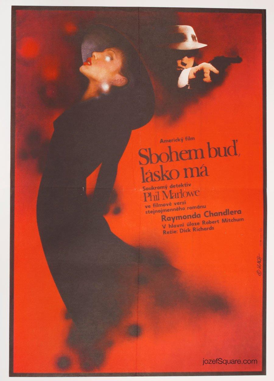 Movie Poster, Farewell, My Lovely, Zdenek Vlach