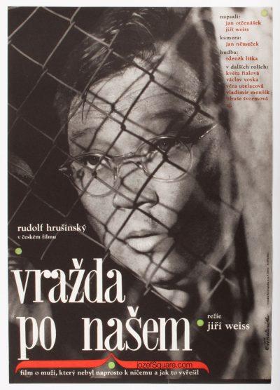 Movie Poster, Murder Czech Style, Alena Hubickova