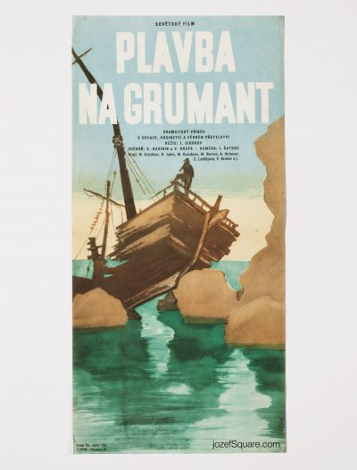 Movie Poster - Cold Sea, Bretislav Sebek