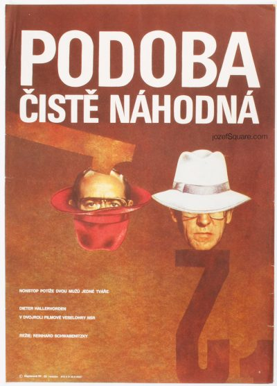 Movie Poster, Non-Stop Trouble with My Double, Hana Hejzlarova