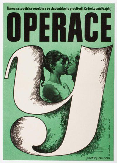 Movie Poster, Operation Y, Jan Turnovsky