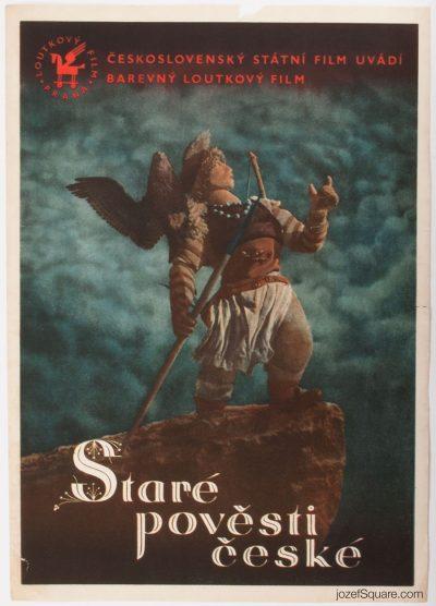 Movie Poster, Old Czech Legends, Jiri Trnka