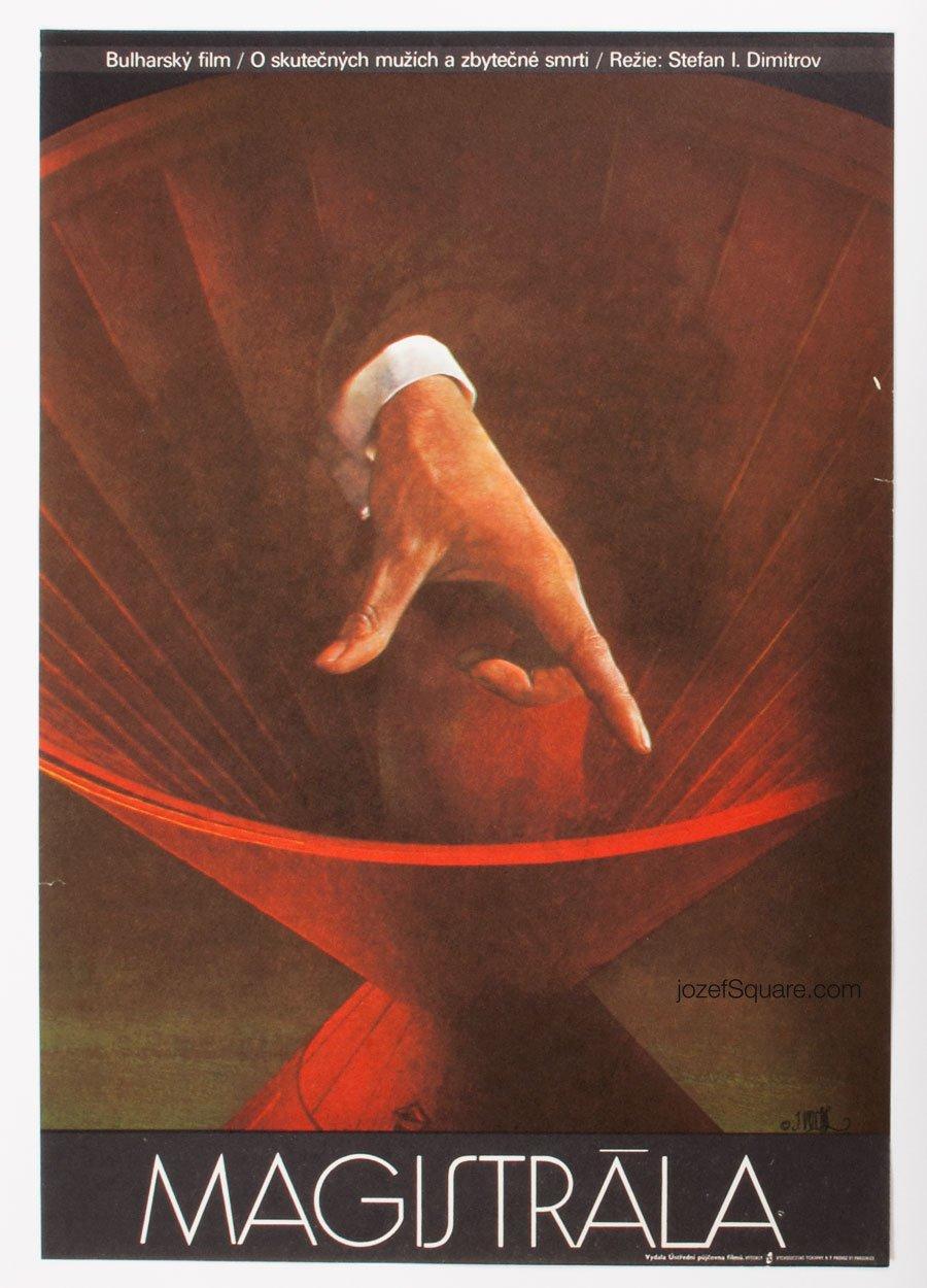 Movie Poster, Highway, Josef Vyletal
