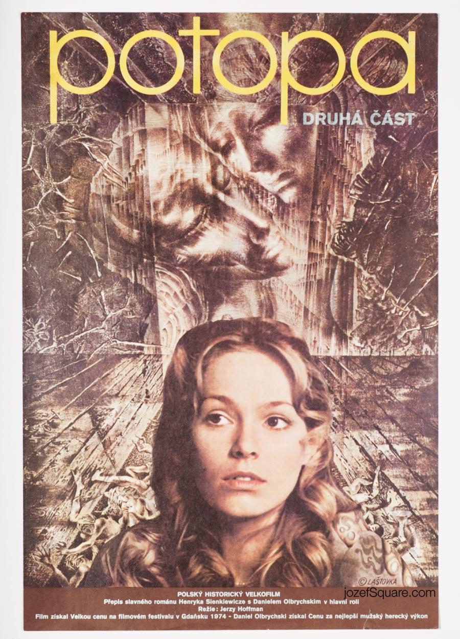 Movie Poster, The Deluge 2, Karel Lastovka