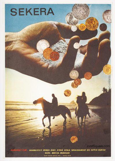 Movie Poster, The Axe, Karel Lastovka