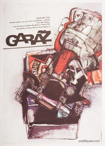 Movie Poster, The Garage, Miroslav Gemrot