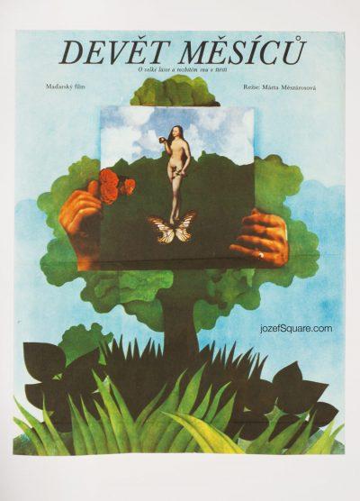 Movie Poster, Nine Months, Renata Vlachova