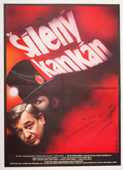 Movie Poster, A Wild Cancan, Zdenek Vlach