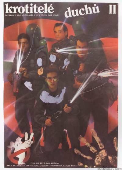 Movie Poster, Ghostbusters 2, Zdenek Ziegler