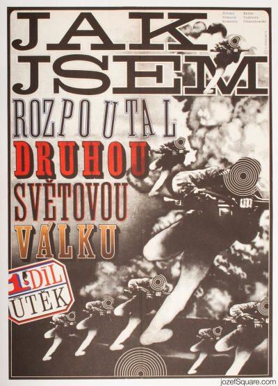 Movie Poster, How I Unleashed World War II, Zdenek Ziegler