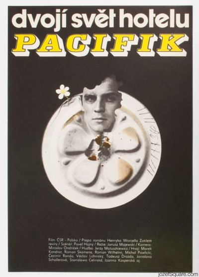 Movie Poster, Behind Scenes at Pacific Hotel, Zdenek Ziegler