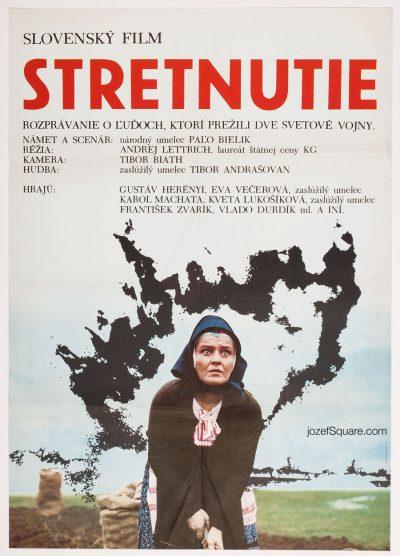 Movie Poster, The Meeting, Zuzana Minacova