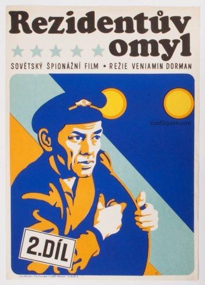 Movie Poster, Secret Agents Blunder, Ales Krejca