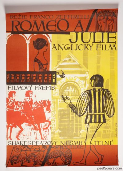Movie Poster, Romeo and Juliet, Franco Zeffirelli