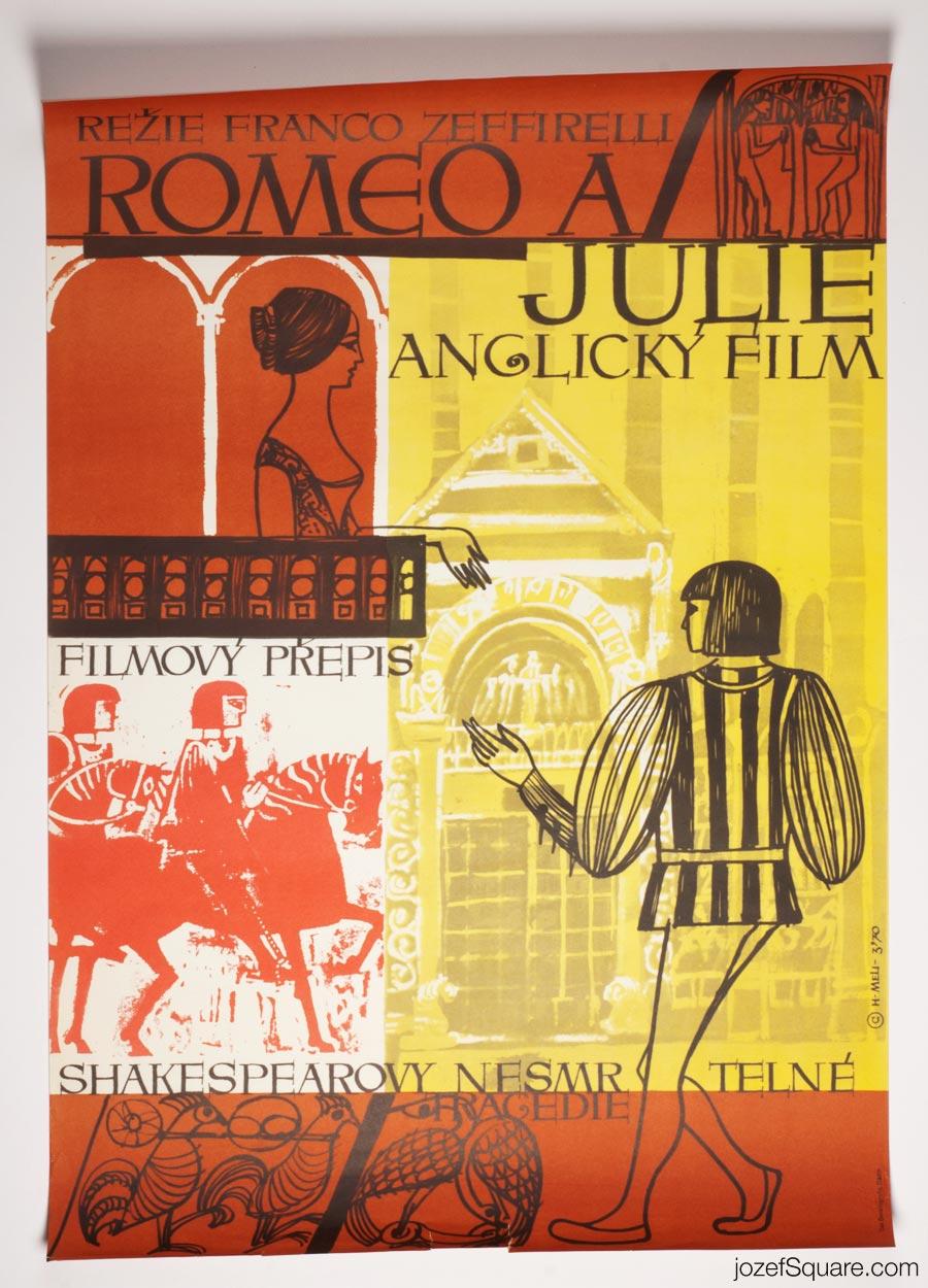Movie Poster, Romeo and Juliet, Franco Zeffirelli