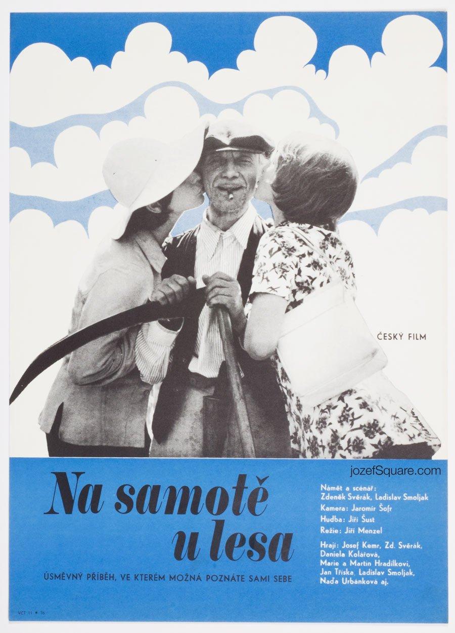 Movie Poster, Secluded, Near Woods, Jana Novakova