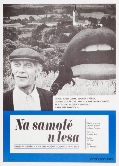 Movie Poster, Secluded, Near Woods 2, Jana Novakova