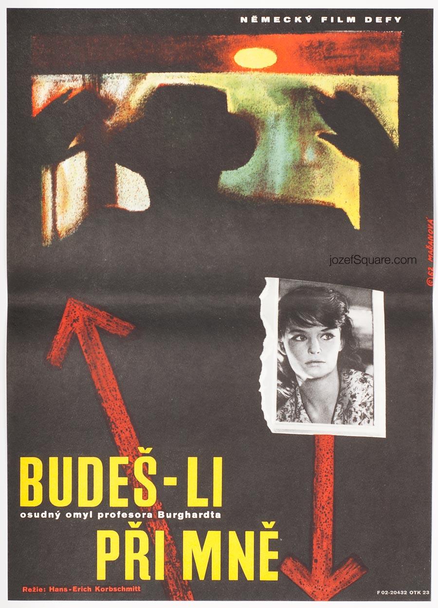 Movie Poster, If You Stand by Me, Jarmila Maranova