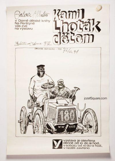 Exhibition Poster, Kamil Lhotak for Children