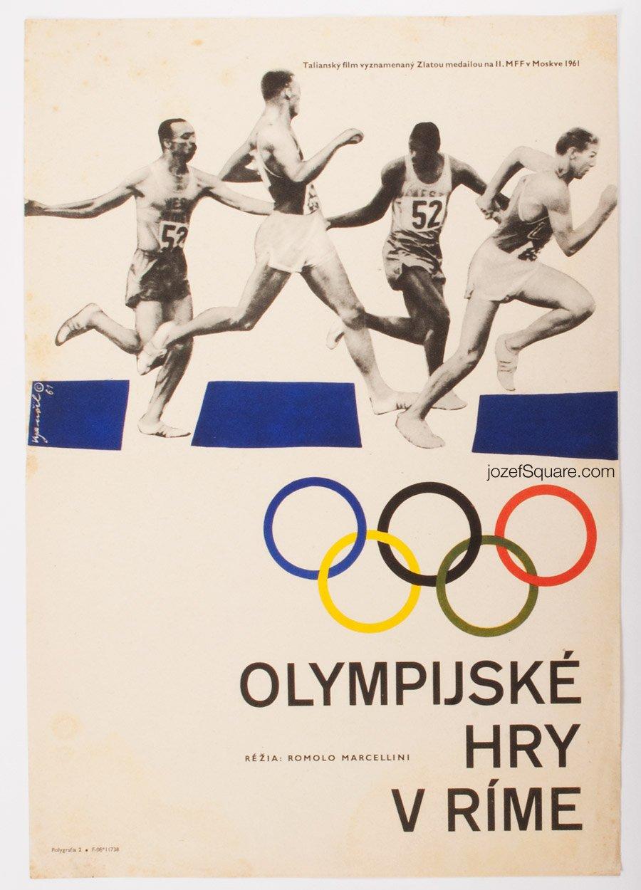 Movie Poster, The Grand Olympics, Karel Vysusil