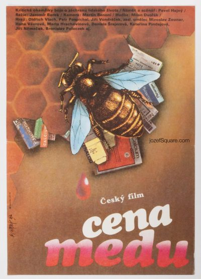 Movie Poster, Price of Honey, Martin Dyrynk