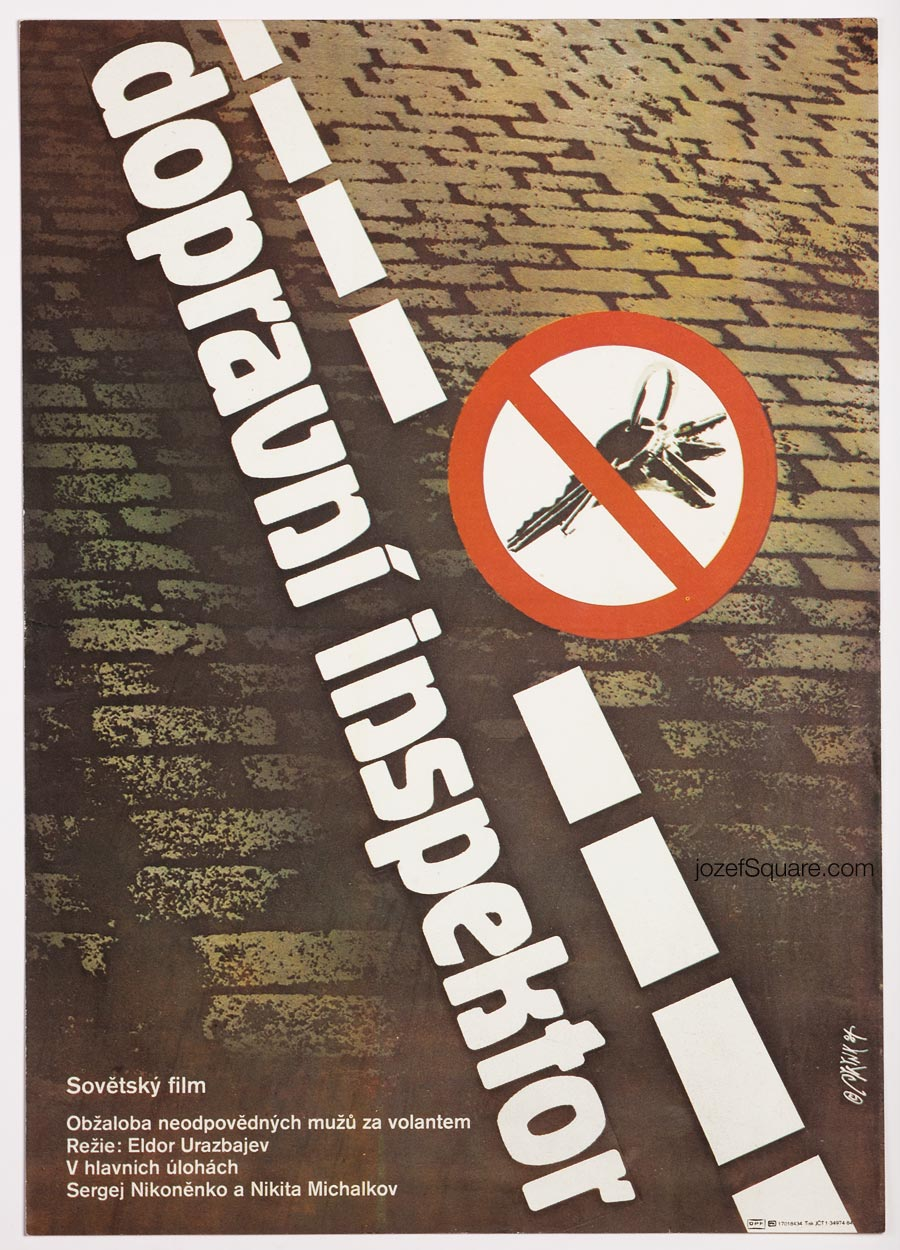 Movie Poster, Traffic Officer, Martin Dyrynk