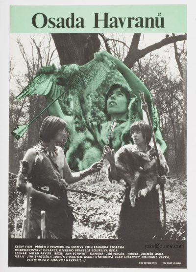 Movie Poster, Settlement of Crows, Milan Grygar