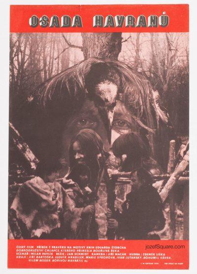 Movie Poster, Settlement of Crows 2, Milan Grygar