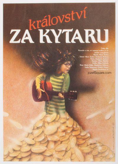 Movie Poster, Kingdom for Guitar, Milan Pecak