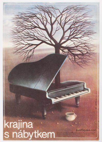 Movie Poster, A Landscape with Furniture, Milan Pecak