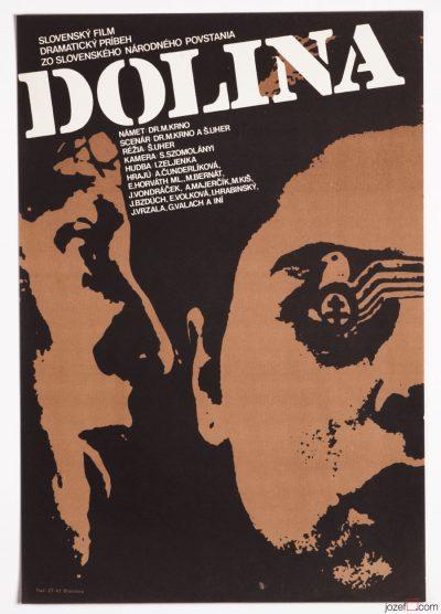 Movie Poster, Valley, Milan Vesely