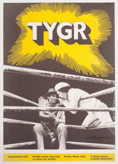 Movie Poster, The Tiger, Miroslav Hrdina