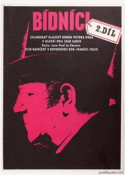 Movie Poster, Miserables II, Jean Gabin