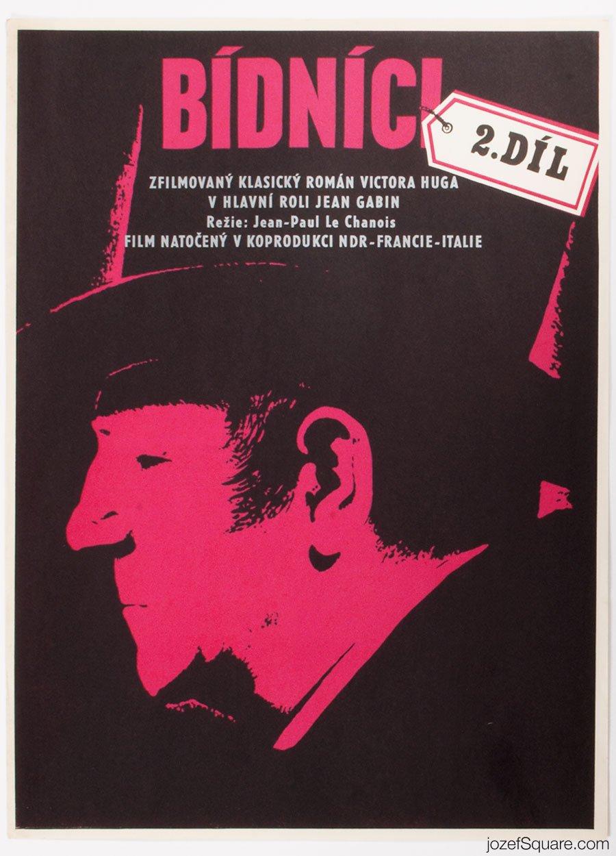 Movie Poster, Miserables II, Jean Gabin