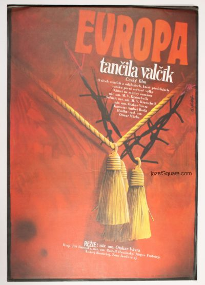Movie Poster, Europe Danced the Waltz, Zdenek Vlach