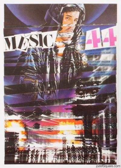 Movie Poster, Moon 44, Zdenek Ziegler