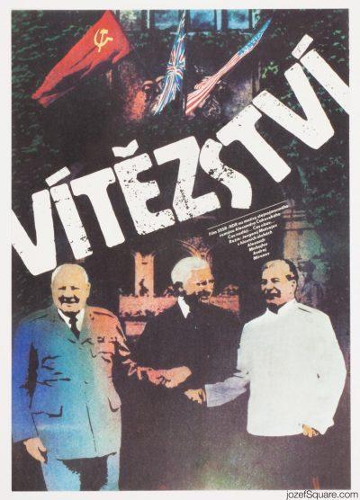 Movie Poster, Victory, Zdenek Ziegler