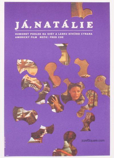Movie Poster, Me, Natalie, Dimitrij Kadrnozka