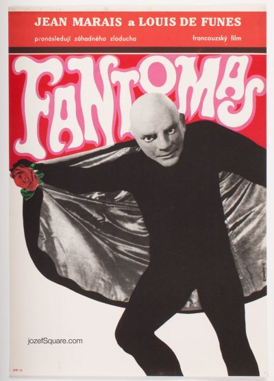 Movie Poster, Fantomas, Eva Galova-Vodrazkova