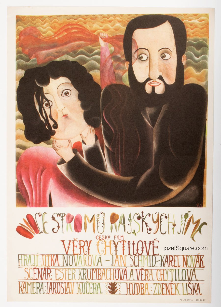 Movie Poster, Fruit of Paradise, Eva Svankmajerova