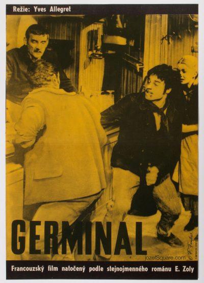 Movie Poster, Germinal, Frantisek Forejt