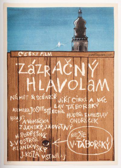 Movie Poster, Magical Brain Teaser, Jan Brychta