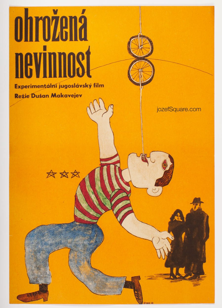 Movie Poster, Innocence Unprotected, Dusan Makavejev