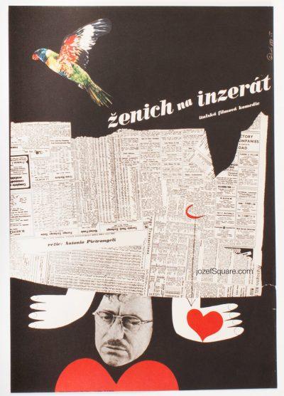 Movie Poster, The Visit, Antonio Pietrangeli