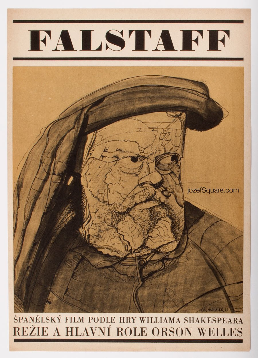 Movie Poster, Falstaff, Karel Machalek
