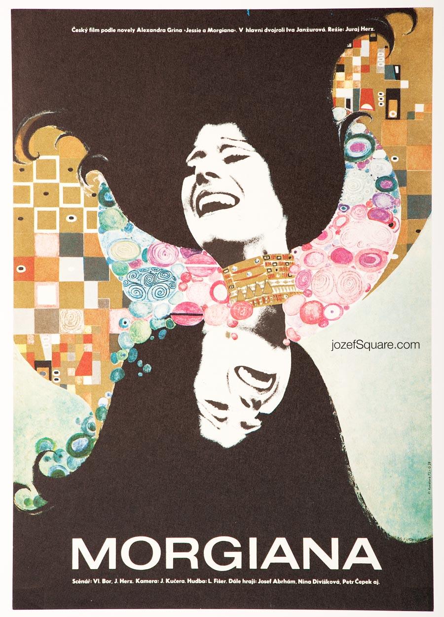 Movie Poster, Morgiana, Juraj Herz, Kvetuse Kovarova
