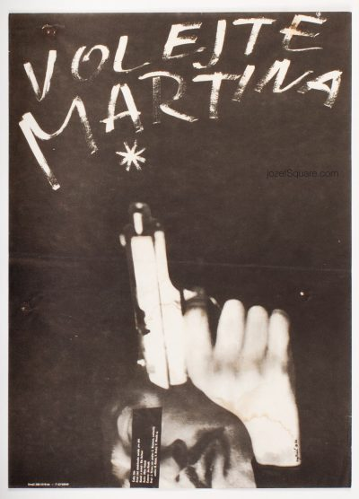 Movie Poster, Call Martin, Miroslav Vystrcil