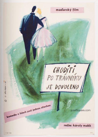 Movie Poster, Dont Keep Off the Grass, Karoly Makk